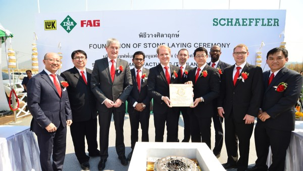 With the foundation stone laying ceremony for greenfield facility in Thailand Schaeffler further expands its manufacturing footprint in Asia/Pacific.