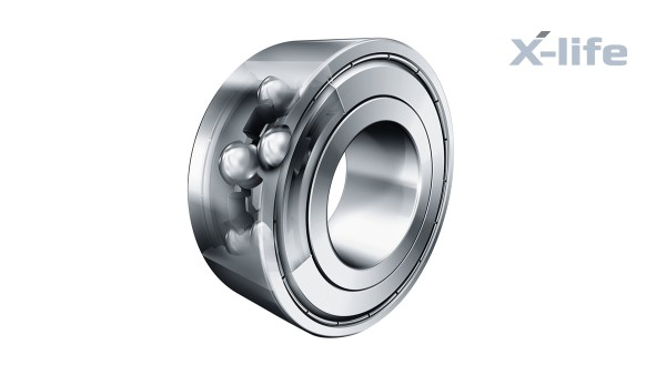 Rolling bearings and plain bearings: Double-row angular contact ball bearings