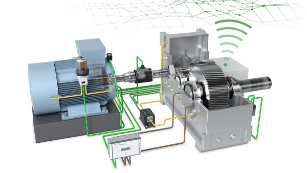 "With the ""Drive Train 4.0"" technology demonstrator, Schaeffler has developed a basic concept for the digitalization and monitoring of motor-gearbox applications, which represents a wide range of drives found in all performance classes and applications."