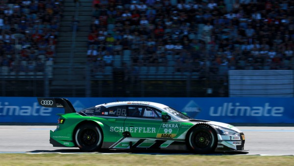 Schaeffler and Mike Rockenfeller in DTM's Iconic Eifel Race