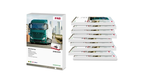 Schaeffler expands its wheel bearing portfolio for heavy commercial vehicles – new catalog now available for the Automotive Aftermarket