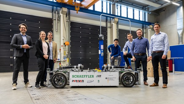 Schaeffler researches innovative steering systems for electric mobility