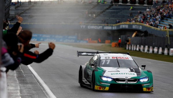 Victory in first race, sensational recovery in race two: Wittmann and the Schaeffler BMW M4 DTM deliver stunning performance in Assen