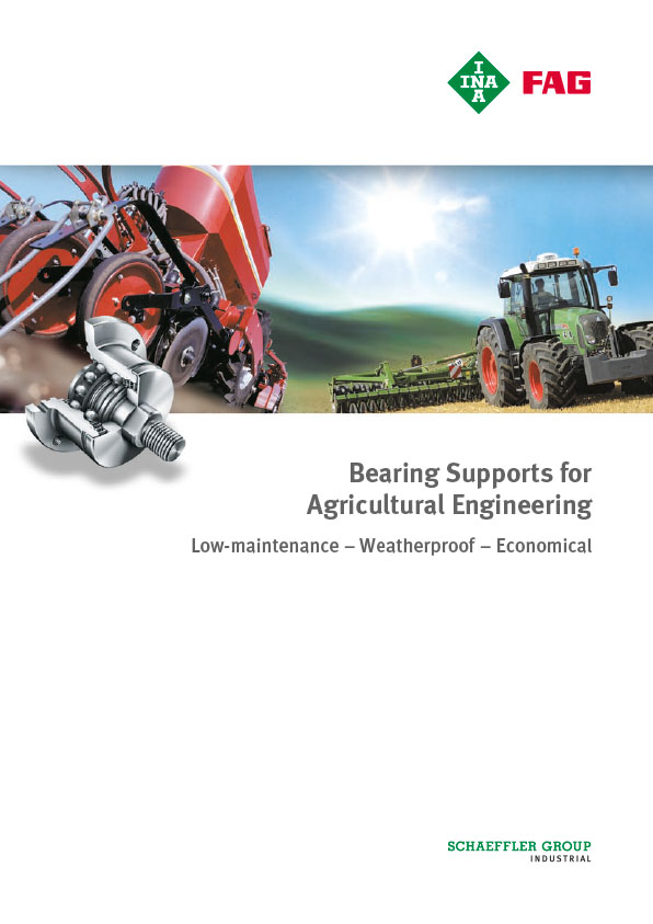 Bearing Supports for Agricultural Engineering