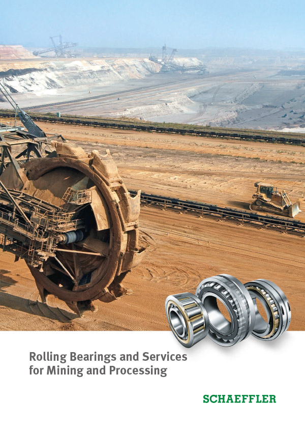 Rolling Bearings and Services for Mining and Processing