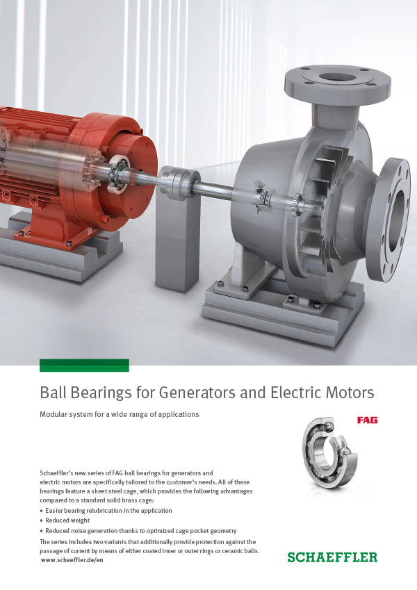 Ball Bearings for Generators and Electric Motors