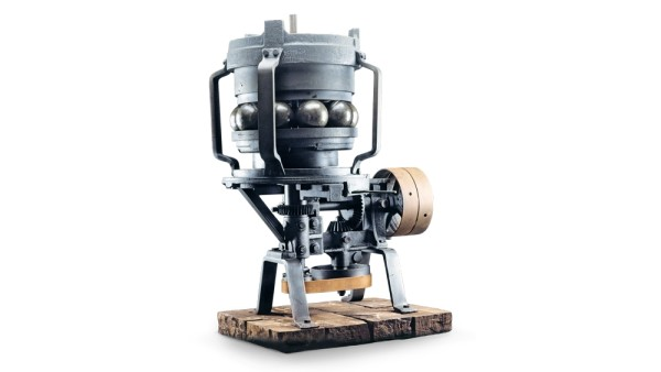 Friedrich Fischer designs the ball grinder.