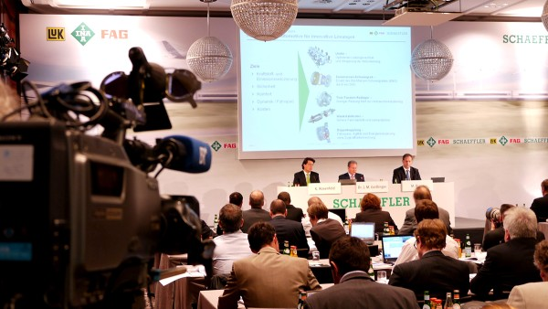 The Schaeffler Group successfully overcomes the most serious economic crisis in recent history.