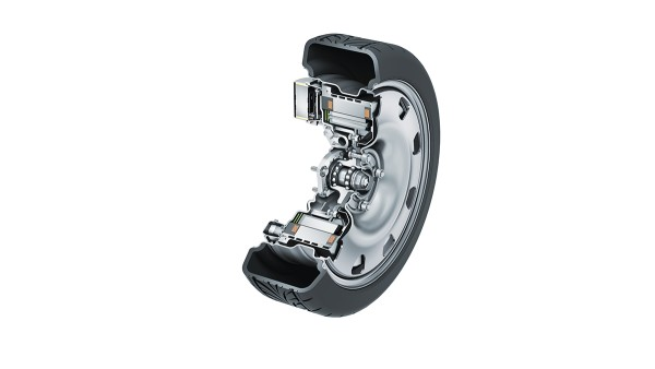 Electric wheel hub drives